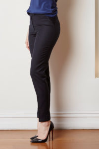 tailored pant with cuff